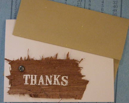 Bark Thank You with Envelope