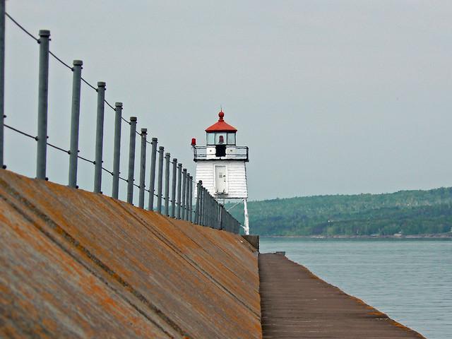 Two Harbors Breakwater Lighthouse, MN