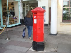 Postbox ... Montpelier, Cheltenham