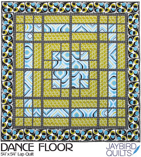 Dance Floor Quilt Pattern - JBQ 102