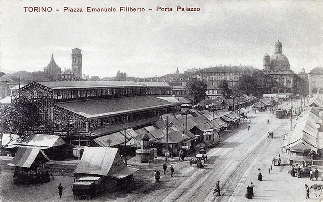 Porta palazzo un secolo fa foto di conservatoria delle for Planimetrie del palazzo mediterraneo