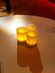 orange, decor, flameless candle, yellow, light, table, circle, lighting,