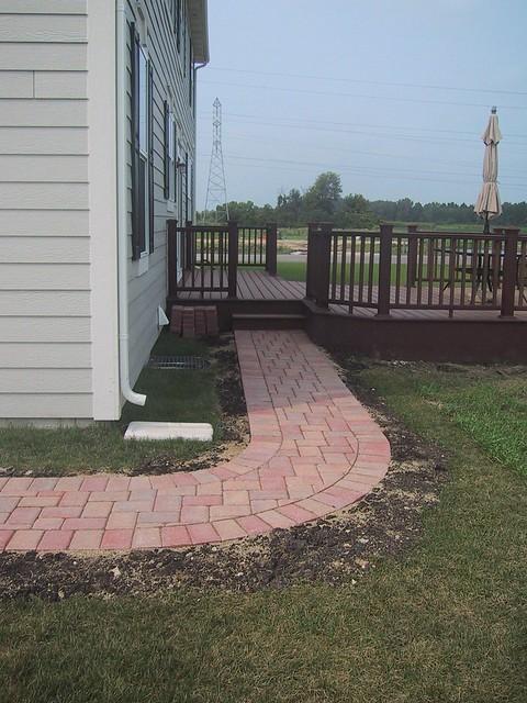 Deck Sidewalk