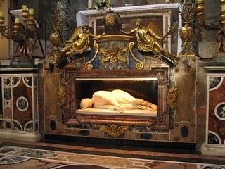 Shrine of St Cecilia