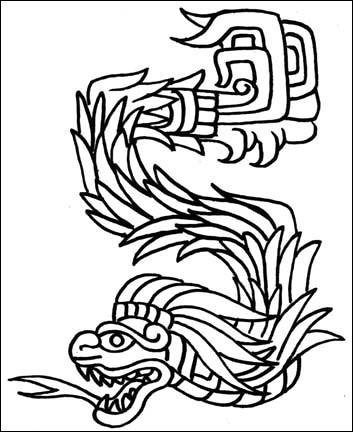 Quetzalcoatl Tattoo Design   Flickr - Photo Sharing!