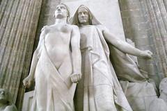 Paris - Latin Quarter: Panthéon - Monument à Diderot