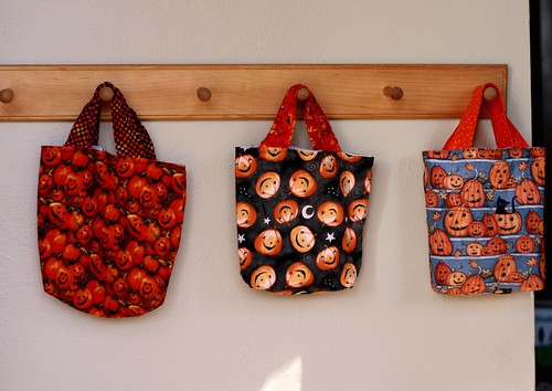 all three bags