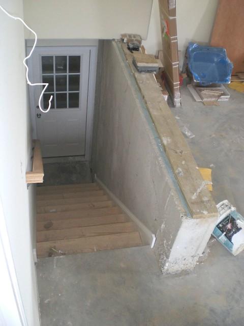 garage stairs to basement flickr photo sharing
