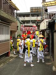 Tsukamoto 4chome festival