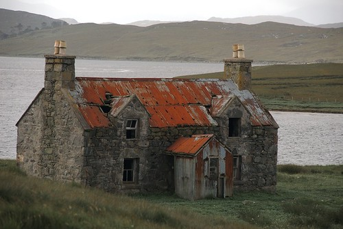 The Abandoned House By Calanais III