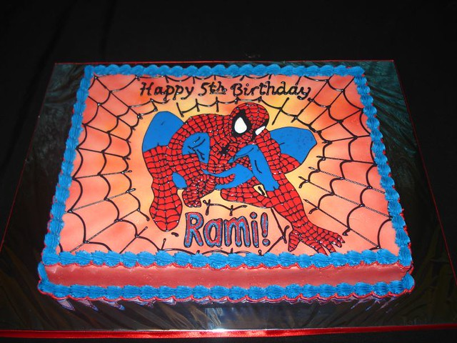 Spiderman cupcake cake walmart - photo#26