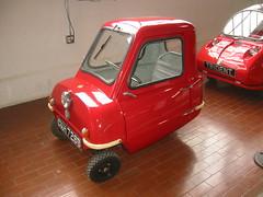automobile, vehicle, peel p50, antique car, land vehicle,