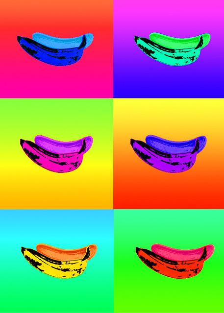 andy warhol pop art banana - photo #24