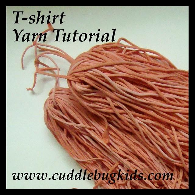shirt Yarn Tutorial | Flickr - Photo Sharing!