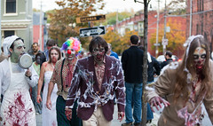 Zombie Walk 2010 - Albany, NY - 10, Oct - 12.jpg by sebastien.barre