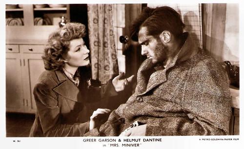 Greer Garson, Helmut Dantine