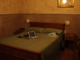 hotel room in pisa