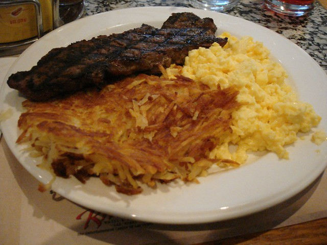 Steak and Eggs | Flickr - Photo Sharing!