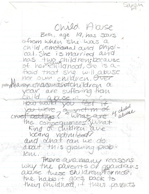 Child abuse argumentative essay sample | blogger.com