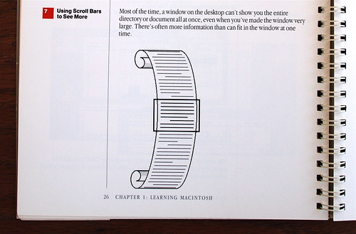 Macintosh User Manual - Scrolling