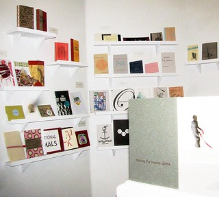 Handmade books and letterpress and Indy printing at Craftland, Providence RI