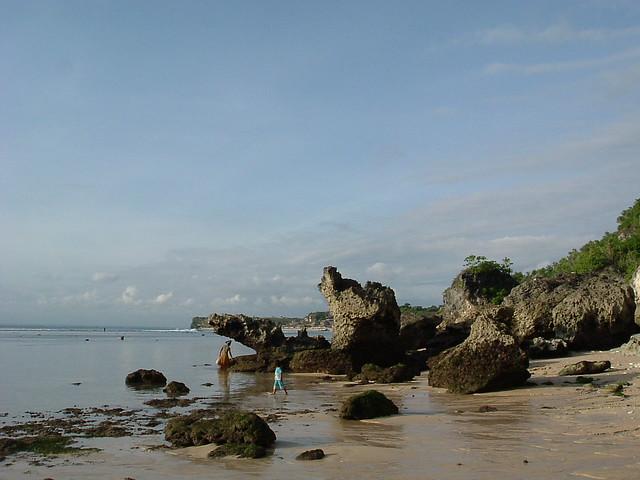 Bali beach, Fujifilm FinePix A205S