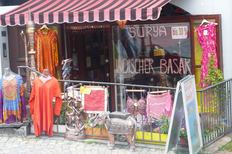 Indian shop seen in Bern