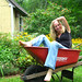 Red Convertible ala Country Style! by GoldnGirl (taking a break)