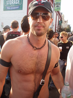 FOLSOM STREET FAIR HELLA COOL HOTTIE (SAFE PHOTO)