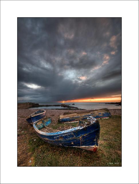Boats at Dawn, Auchmithie