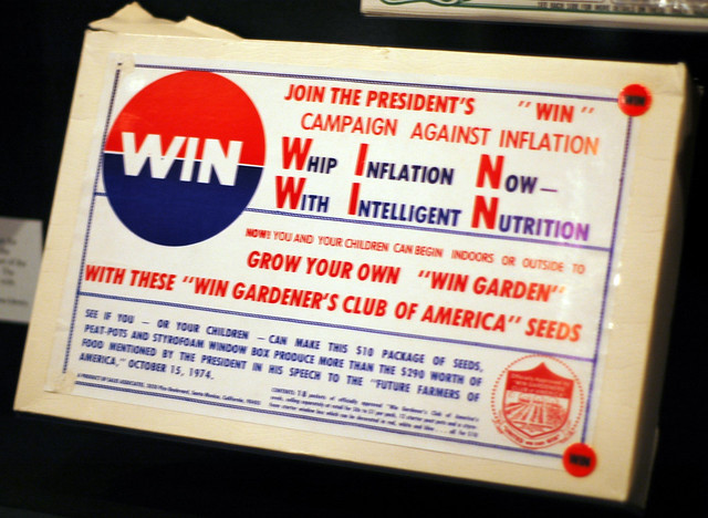 Whip Inflation Now seed kit - Harry S. Truman Presidential Museum and Library - Independence, Missouri, by Marshall Astor