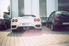 automobile(1.0), automotive exterior(1.0), vehicle(1.0), performance car(1.0), automotive design(1.0), ferrari f430(1.0), ferrari 360(1.0), bumper(1.0), land vehicle(1.0), luxury vehicle(1.0), supercar(1.0), sports car(1.0),
