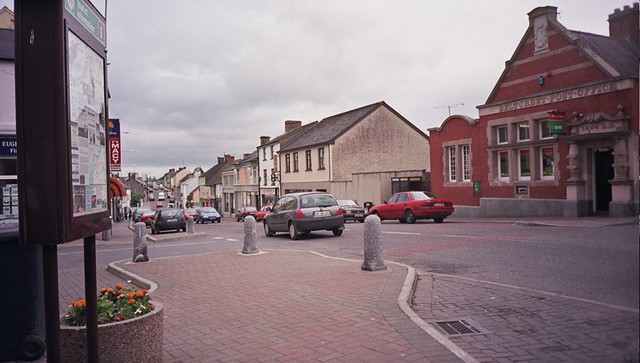 Main drag in Belturbet