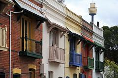 Terrace balconies