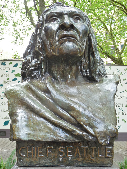 Header of Chief Seattle