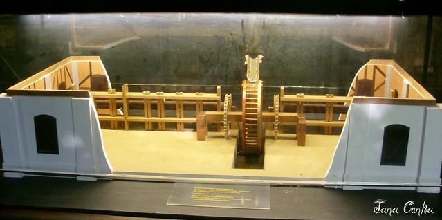 Museu-Sítio Arqueológico Casa dos Pilões - Maquete