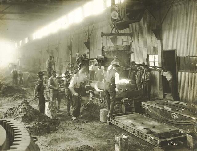 Hadfields Works - Alexandria, 1925