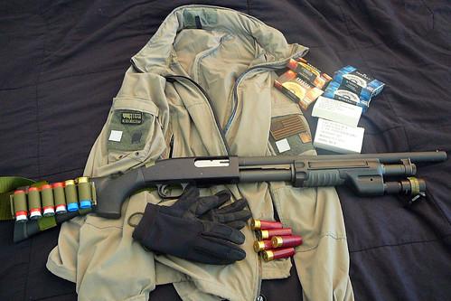 Porto d'armi e munizionamento