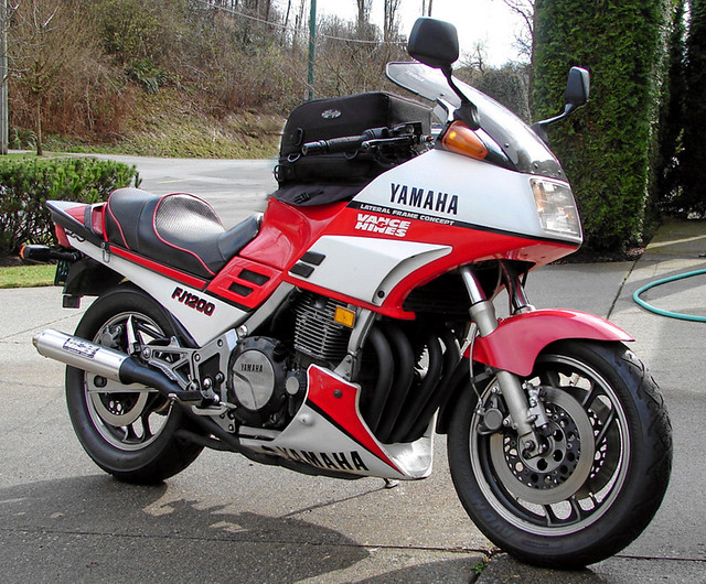 1986 Yamaha Fj1200 Though Capable Of 0 60 Mph Times Of 2