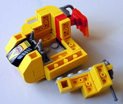 model car(0.0), font(0.0), toy block(1.0), yellow(1.0), lego(1.0), toy(1.0),