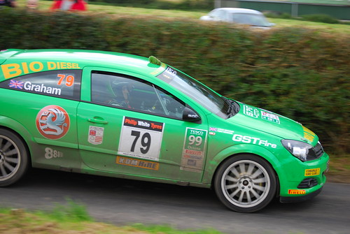 Vauxhall Astra D - S Graham - biodiesel car