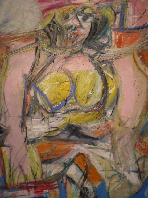 Willem de Kooning 'Woman IV' 1953, Nelson-Atkins Museum of ...