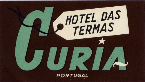 hotel das termas curia portugal by Millie Motts