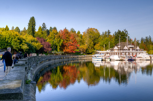 Vancouver Rowing Club in Autumn
