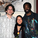 Artists Nathaniel Bolton, Gina Lim and Malik Seneferu