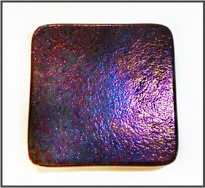 Iridescent Glass Tile Purple, Gold and Blue Shades