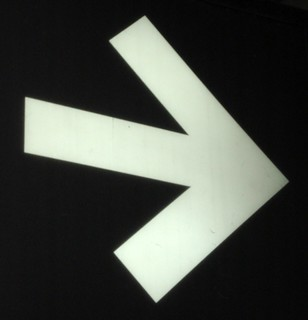Illuminated Arrow