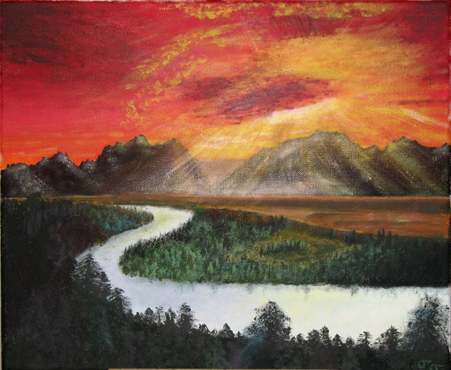 Acrylic Sunrise/Sunset