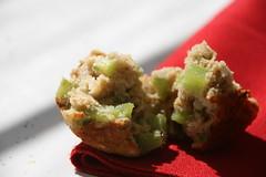 celery oat muffins