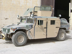 land rover series(0.0), automobile(1.0), military vehicle(1.0), sport utility vehicle(1.0), vehicle(1.0), hummer h1(1.0), humvee(1.0), off-road vehicle(1.0), land vehicle(1.0), luxury vehicle(1.0),